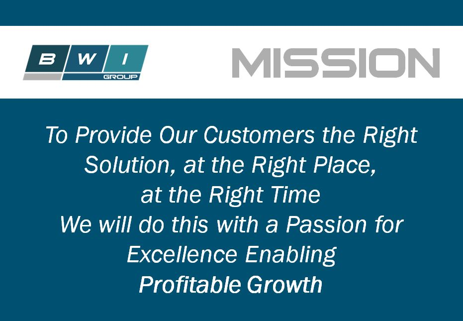 Tom Gold, Vice President of Operations, discusses BWI Group's Mission