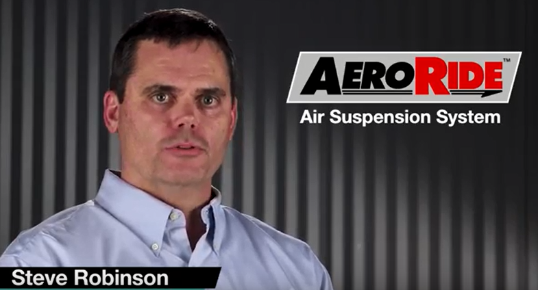 Air Suspension System Expert Steve Robinson describes BWI Group's AeroRide Air Suspension System