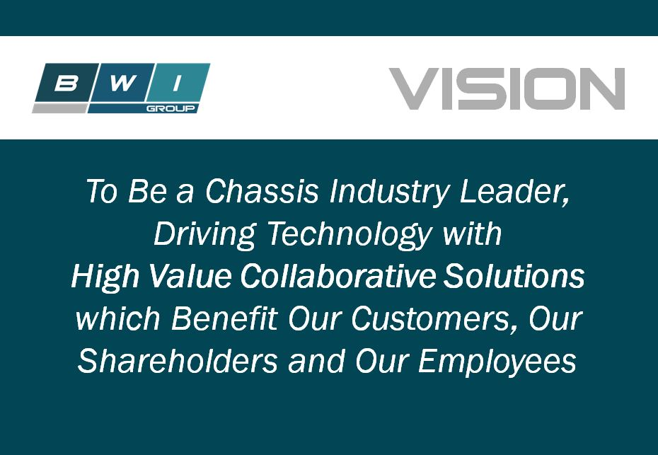 Tom Gold, Vice President of Operations, discusses BWI Group's Vision Statement