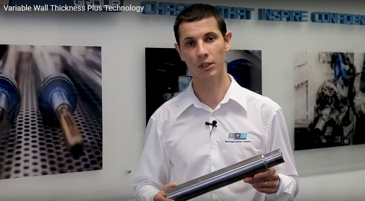 Dominik Kasprzyk, Engineering Supervisor, tells us about Variable Wall Thickness Plus technology from BWI Group